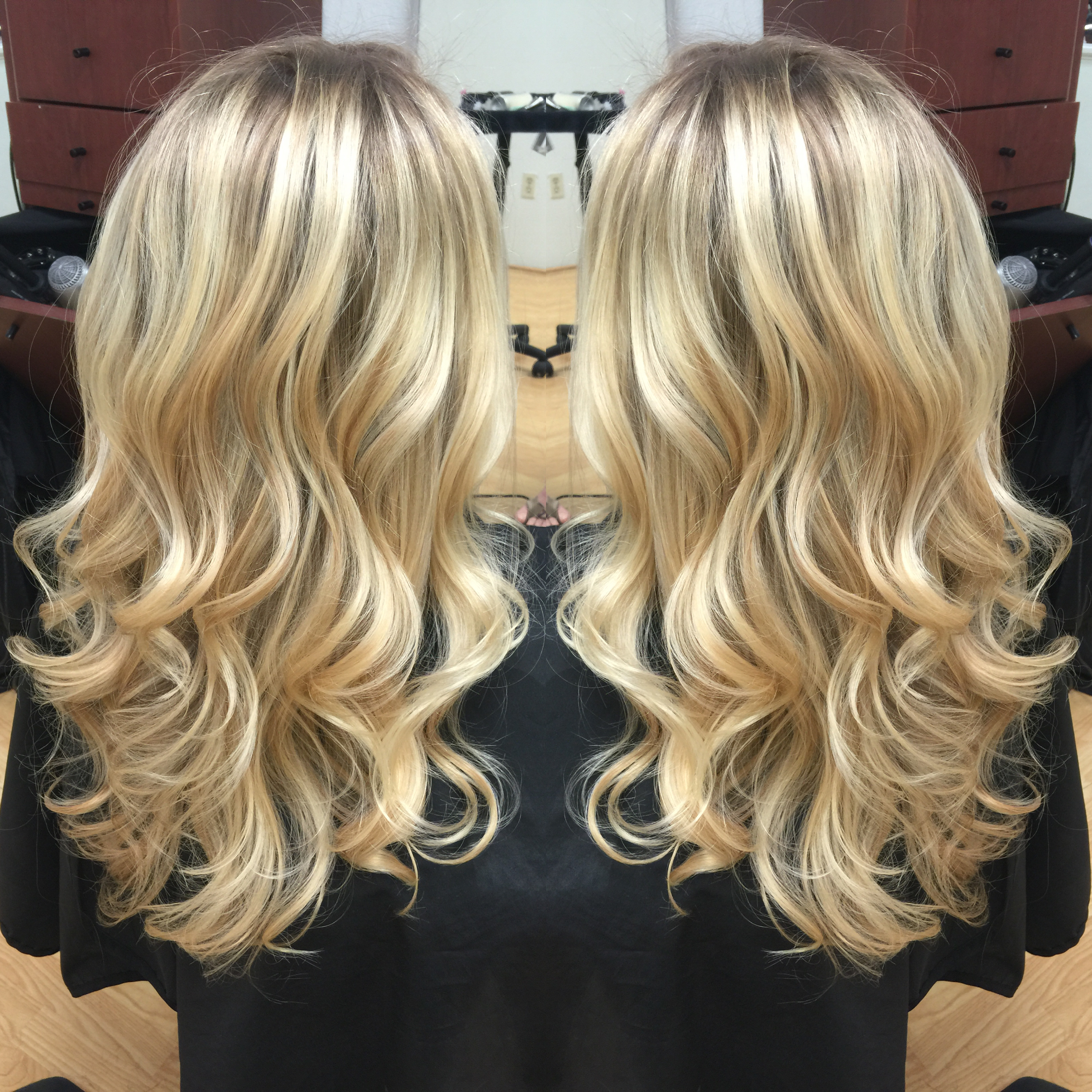 Newport Beach Hair Stylist Natural Light Ash Blonde Base