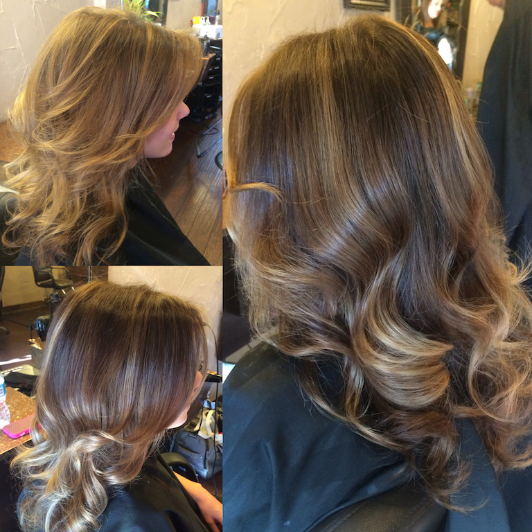 Newport Beach Hair Stylist Deep Chocolate Brown Base With Ribbon