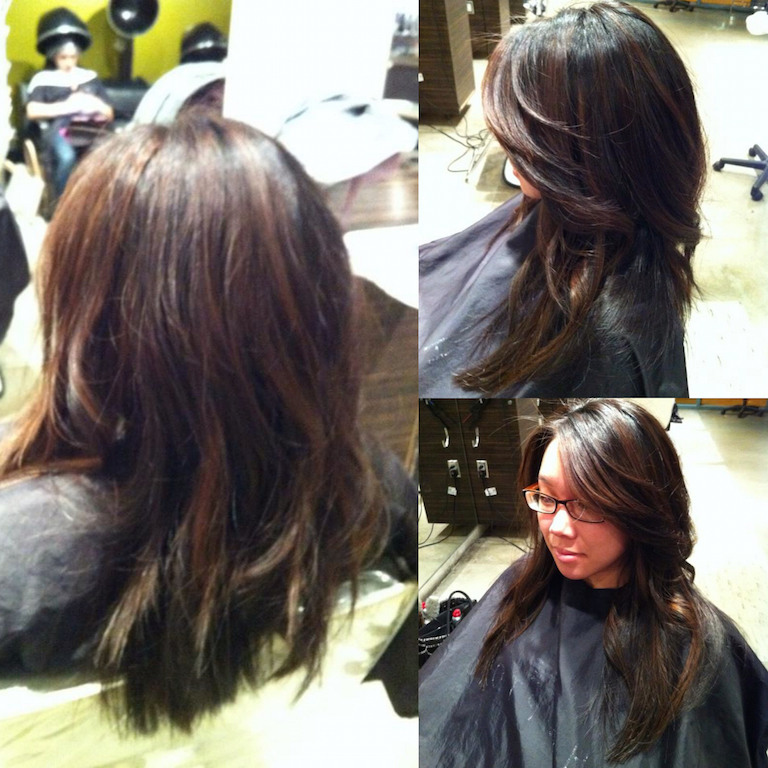 Newport Beach Hair Stylist Natural Black Hair Base With Rich Warm